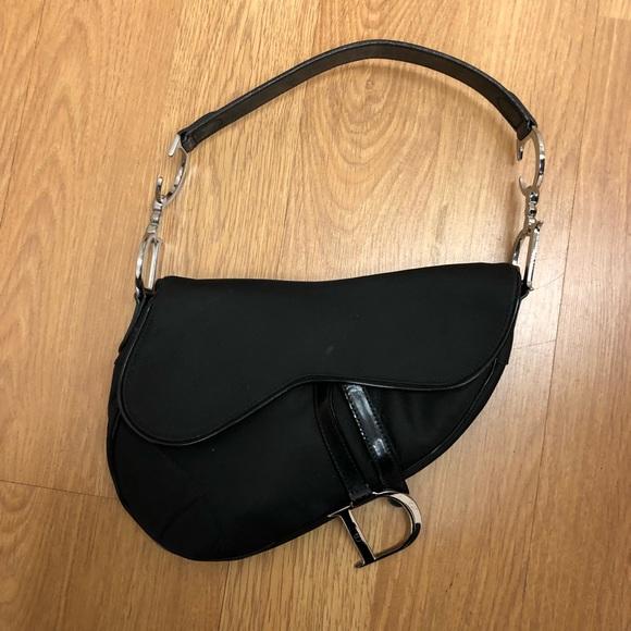 ce84289ab56a Christian Dior Handbags - Christian Dior D Saddle Bag